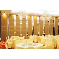Great Hall Wooden Partition Walls Sliding Acoustic Panel 6m Height Manufactures