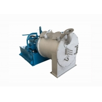 High Efficiency Continuous Salt Pusher Salt Centrifuge 1870*860*650mm Manufactures