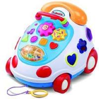 Novelty Toys & Intellectual Toy Phone,Funny Learning Toys for Baby & Kids,Fantastic Barrows Music Car Phone - Luxurious Toys Telephone (MZC95907) Manufactures