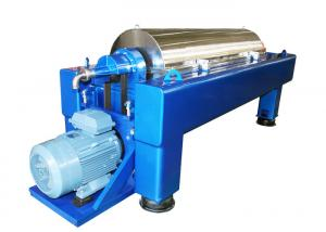 Large Capacity Automatic Solid Liquid Separator Decanter Centrifuge / Seperationg Machine Manufactures