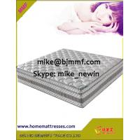 King Coil Euro top Pocket Spring Mattress with Natural Latex and 3D Air Mesh Manufactures