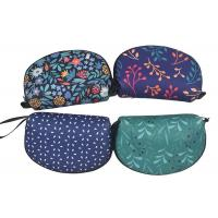 Mini Shell Zippered Cosmetic Bag Personalized Full Heat Transfer Printing Manufactures