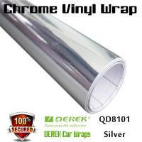 Chrome Mirror Car Wrapping Vinyl Film 3 layers - Chrome Silver Manufactures