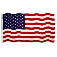 American Custom Double Sided Flag / Digital Printing Football Club Flags Manufactures