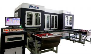 High Efficiency PVC card Lamination Machine for making membership card bank pvc card 28000cards per hour Manufactures