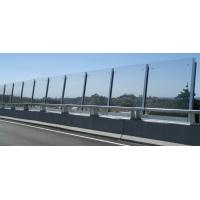 Highway Fence Safety Glass Panel , PVB Laminated Safety Glass Manufactures