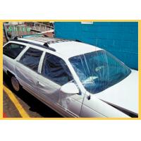 Self Adhering Collision Wrap Film Temporary Outdoor Storage Protection For Damaged Vehicles Manufactures