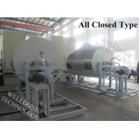 High Drying Efficiency Roller Drum Dryer Thermal Oil Heating 5 . 5 - 75Kw Manufactures