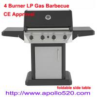 4 Burner Gas Grill Outdoor Cooking