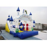 Cheap 26ft Inflatable Camelot Castle Customize With Slide N Obstacles for sale