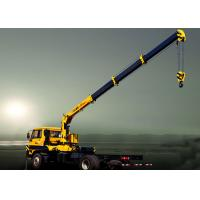 Hydraulic Lifting Telescopic Boom Truck Crane Mounted With 2270 kg Crane Manufactures