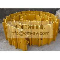 Cheap SUPER Shantui SD16 bulldozer track shoes / 203MA -37151 undercarriage parts for sale