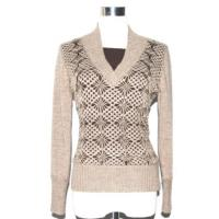 Ladies' Sweater With Hand Embroidery Manufactures