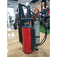 Stainless Steel Fire Fighting Equipment 9L Backpack Water Mist Fire Extinguisher Manufactures