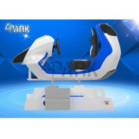 Cool  FRP Material 3D Car Racing Simulator / Electric Dynamic System 9D VR Ride Manufactures