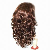 18-inch Full Lace Brazilian Virgin Human Hair Wig, 4/30# Body Wave, Ideal for Black Women in Stock Manufactures