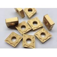 RK7025 CNMG190612 DM Carbide Cutting Inserts Yellow Color For CNC Cutting Tool