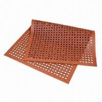 Multipurpose Anti-fatigue Mat with Honeycomb Pattern and Beveled Edge Manufactures