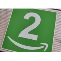 Buy cheap Custom Aluminum Room Number Signs Round Corner UV Resistant Printing For Office from wholesalers