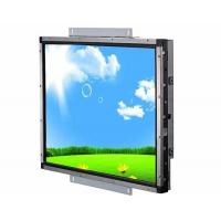 VGA Input Open Frame Lcd Display , Industrial Touch Screen Monitor Fast Response Manufactures