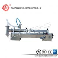 316L Stainless Steel Liquid Filling Machine SLF Semi - Automatic Single Nozzle Manufactures