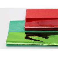 Christmas Coloured Wax Paper Sheets Single Side Good Air Permeability Manufactures