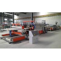 Wood Plastic Double Screw Extruder , Foam Board Extrusion Line Manufactures