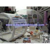 Outdoor Transparent  Inflatable Bubble Tent  For Party , Clear Igloo Tent Manufactures