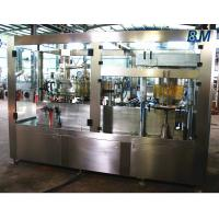China AutomaticAluminum Can filling machine and sealing 2 in 1 for Soft / Carbonated Drink Water on sale