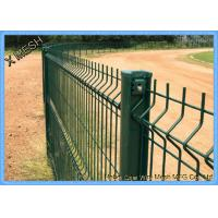Perimeter Coated Welded Wire Fence Steel-P0003