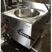 18KW Commercial Induction Cooker For Cooking Soup With 90l Pot Manufactures