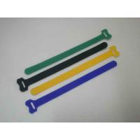 factory supply adhesive braid woven fabric hot sell velcro wrist band