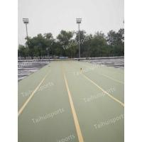China Gymnastic Foam Artificial Grass Shock Pads Water Drainage Three Layers on sale