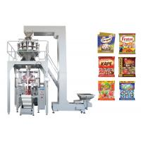 Multiheads Weighing And Packing MachineFor Jelly Candy / Sugar / Confectionary / Biscuit / Cake Manufactures