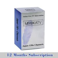 Japanese iptv 1 year subscription longest look back program free test black RK3328 tv box Manufactures