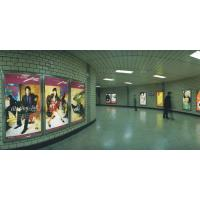 100-175mic Light Box Poster Printing In Bus Stop Advertising Manufactures
