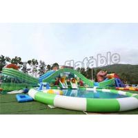 Fun Outdoor Amusement Park Inflatable Water Parks For Adults And Childrens Manufactures