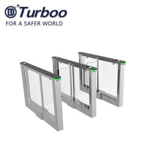 Quality Brushless Motor Swing Barrier Gate For Office Building / Pedestrian Swing for sale
