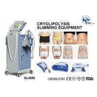 China Professional 4 Hand Pieces Cryolipolysis Fat Freezing Machine For Double Chin Removal on sale