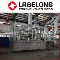 Small Factory Carbonated Water Bottling Machine For Glass Bottle Manufactures