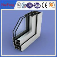 Sliding open style and double glazed Aluminum Profile sliding windows Manufactures