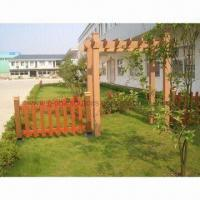 WPC Eco-friendly Fences and Trellis, Uses Water-resistant, Anti-oxidation Agent Manufactures