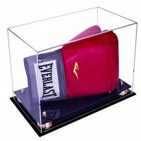 Deluxe Acrylic Led Light Box , Custom Size Boxing Glove Display Case Manufactures