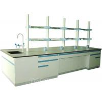 China Chemical Resistant All Steel Structure Modular Laboratory Furniture Physical Lab Bench on sale