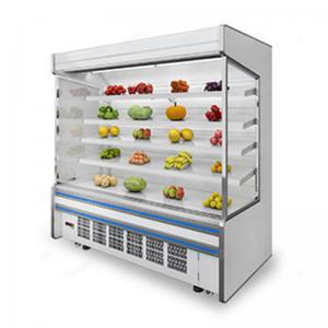 Commercial Supermarket 3m Fruit Vegetable Open Display Cooler Manufactures