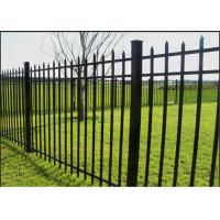 Australia Hot Dip Galvanized 1.8x2.4m  House Gate Designs Wrought Iron Fence Manufactures
