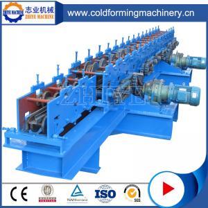 Cangzhou High Efficiency Ppgi Storage Rack Shelf Rollforming Equipment Manufactures