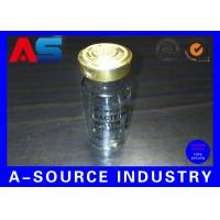 Cheap Clear Adhesive 10 Ml Water Bottle Labels Transparent Ampoule Label Printing for sale