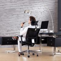 High Back Ergonomic Conference Chair With Aviation Aluminum And Nylon Material Manufactures