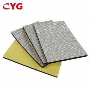 Aluminum Foil Construction Heat Insulation Foam Floor Panels SGS ISO Approval Manufactures